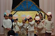 幼稚園クリスマス礼拝が行われました