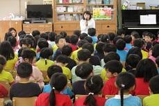幼稚園がスタートしました。
