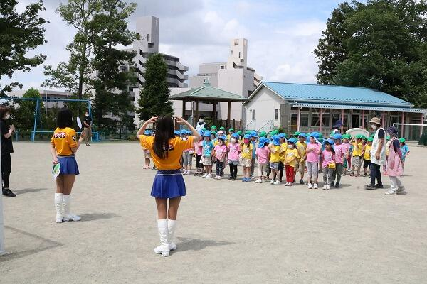 ベガルタ仙台ダンス教室